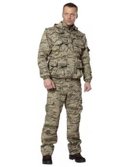 Костюм мужской летний ХИЩНИК (куртка+брюки) серый пиксель (пустыня)