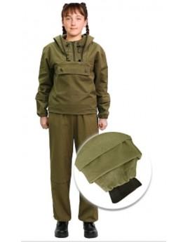 Костюм детский летний ЗВЕРОБОЙ хаки (куртка+брюки)