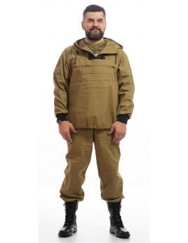 Костюм мужской (куртка, брюки) для защиты от вредных биологических факторов (насекомых)