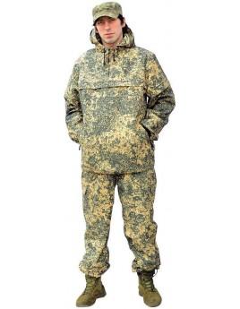 Костюм мужской летний КЛЕЩ СТОП лего беж (куртка+брюки) с ловушками и сеткой