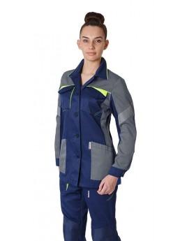 Куртка женская летняя PROFLINE BASE т.синий/серый