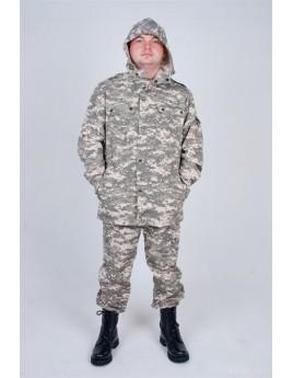Куртка мужская летняя БАРХАН пиксель серый