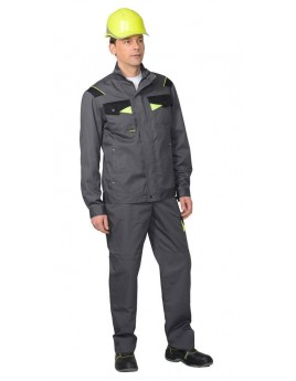Куртка мужская летняя ХОВАРД т.серый/черный
