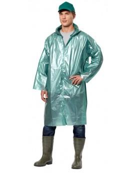 Плащ - дождевик мужской полиэтиленовый с капюшоном