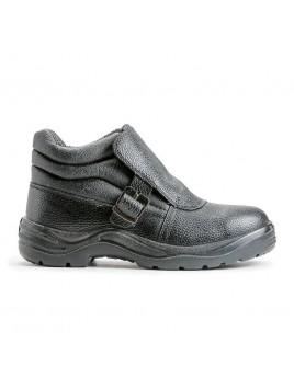 Ботинки 24 сварщика ПУ/Нитрил МП (кожа)