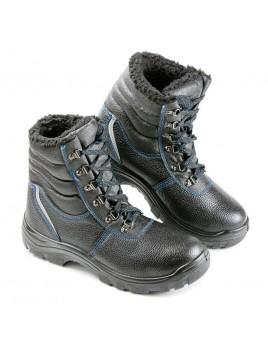 Ботинки 28М ПУ МП (кожа, искусственный мех)