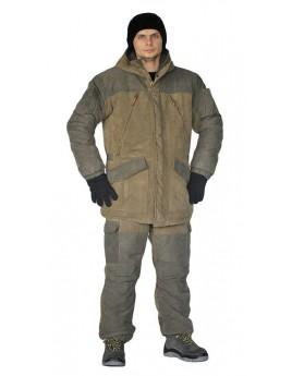 Костюм мужской зимний ГЕРКОН св.хаки/т.хаки (куртка+брюки)