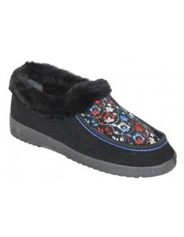 Ботинки суконные с вышивкой