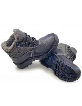 Ботинки зимние М-4 ПУ/Резина КП (кожа, шерстяной мех)