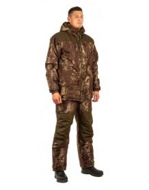 Костюм мужской зимний СЛЕДОПЫТ (куртка+полукомбинезон) (бурая кора)